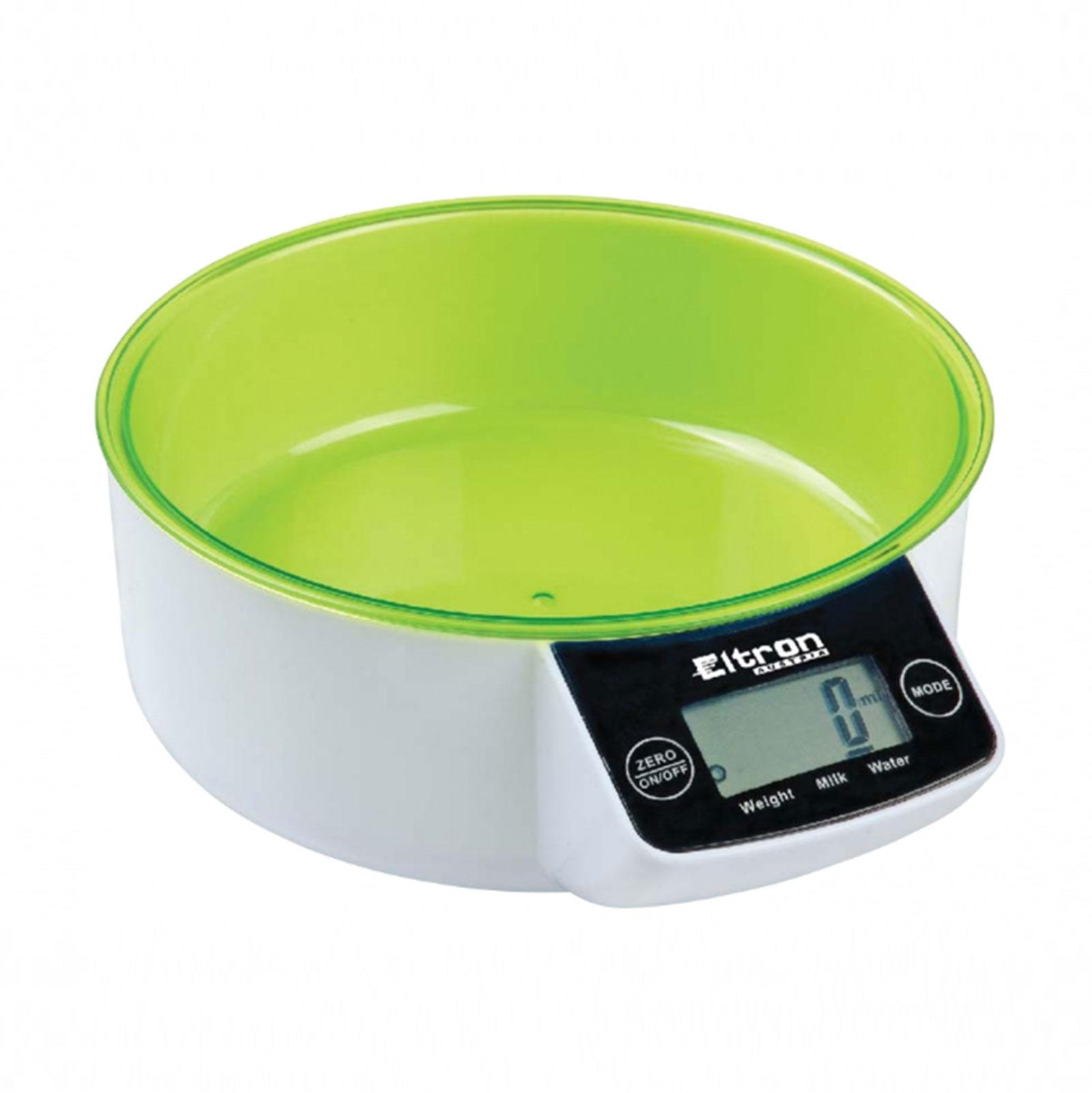 Электронные кухонные весы со съемной чашей