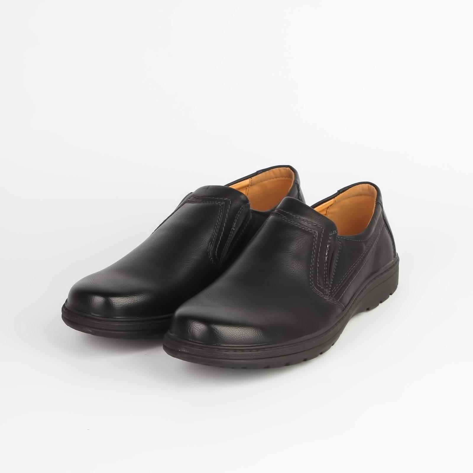 Туфли мужские с декоративной строчкой