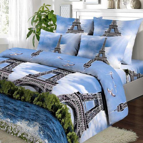 Комплект постельного белья «Эйфелева башня»