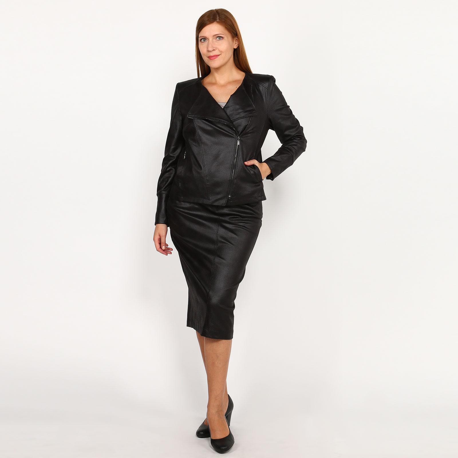 Куртка-косуха на молнии с карманами