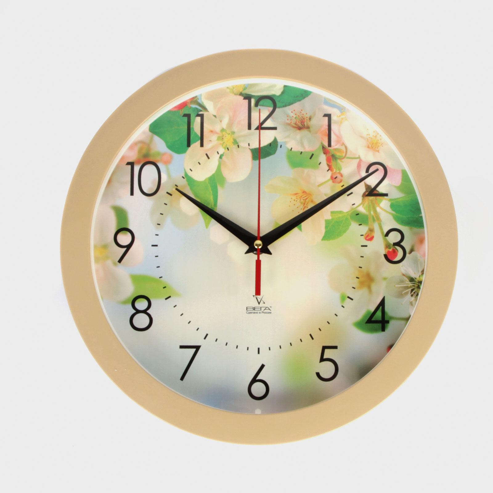 """Часы настенные """"Яблоневый цвет"""""""