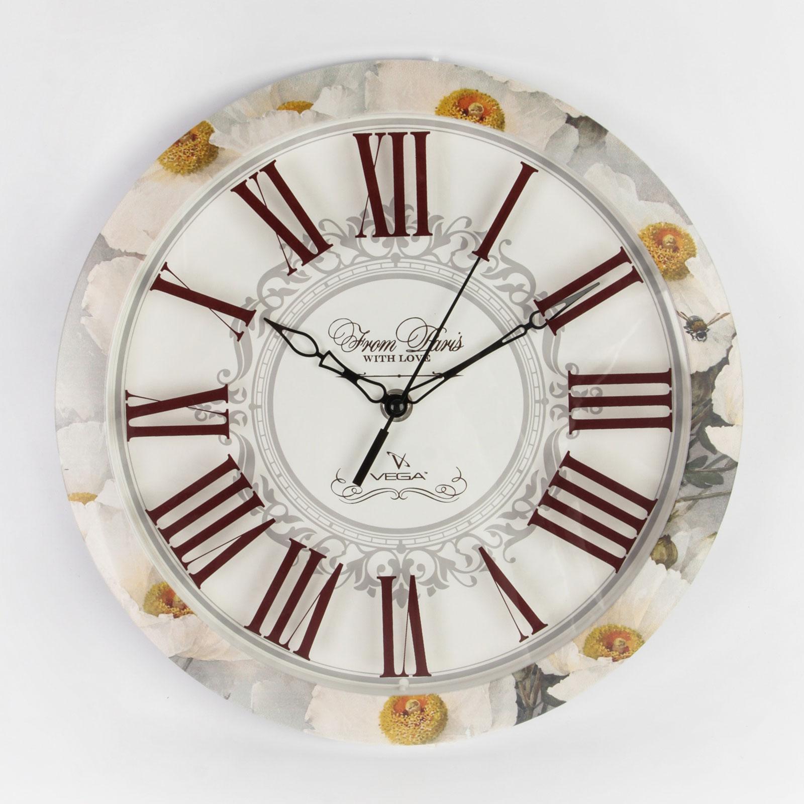 """Часы настенные """"Время цветов"""""""