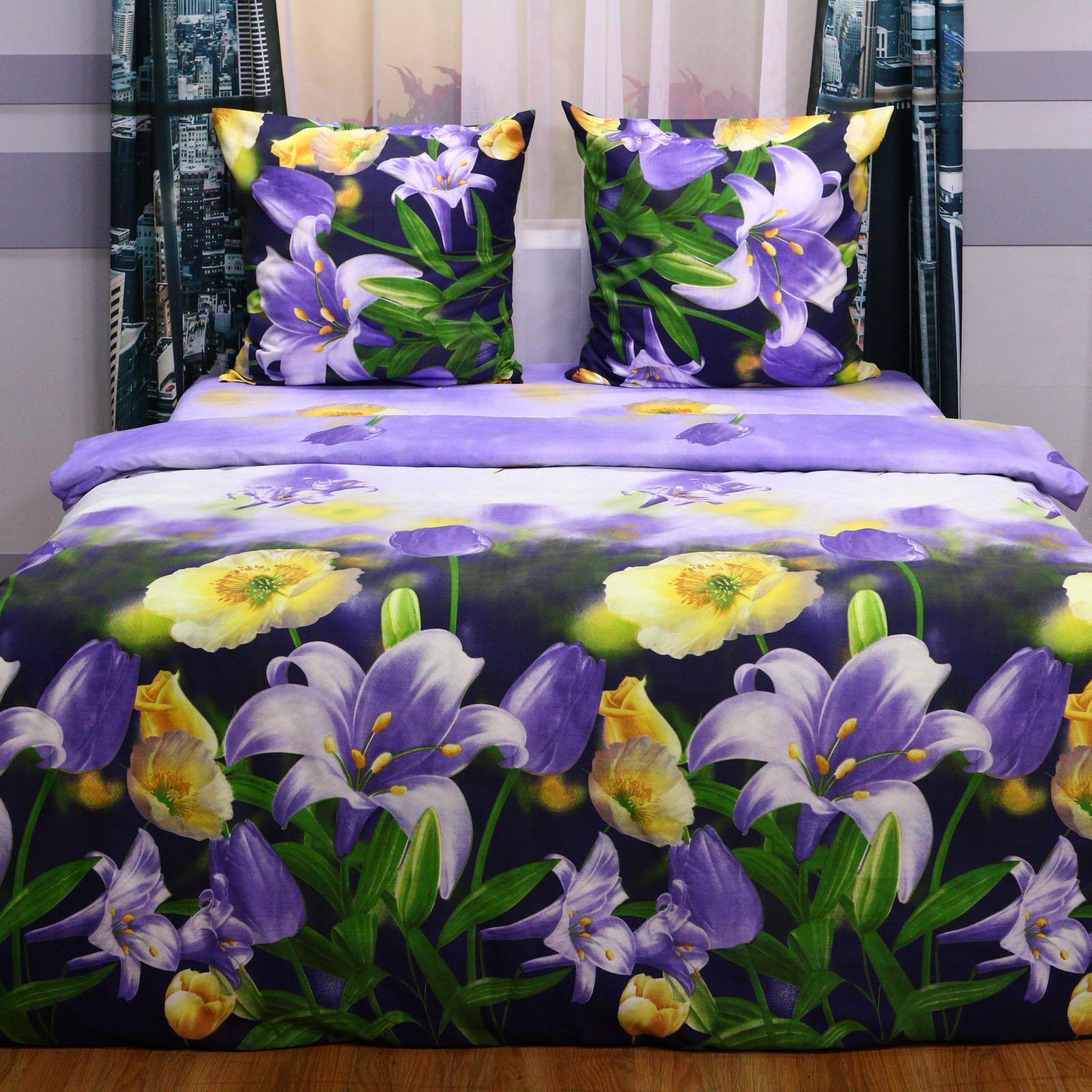 """Комплект постельного белья """"Лилии в саду"""""""