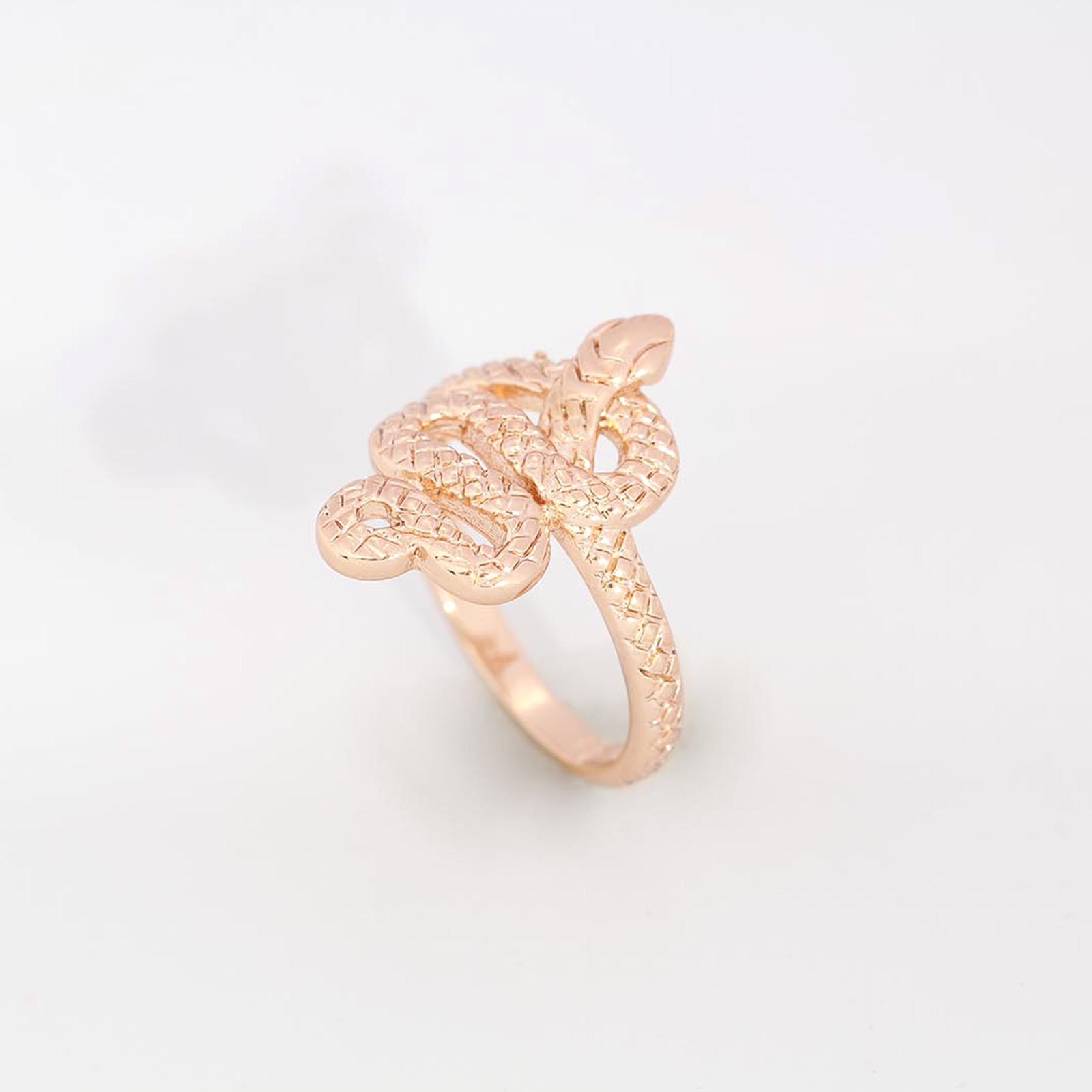 Кольцо «Змейка»