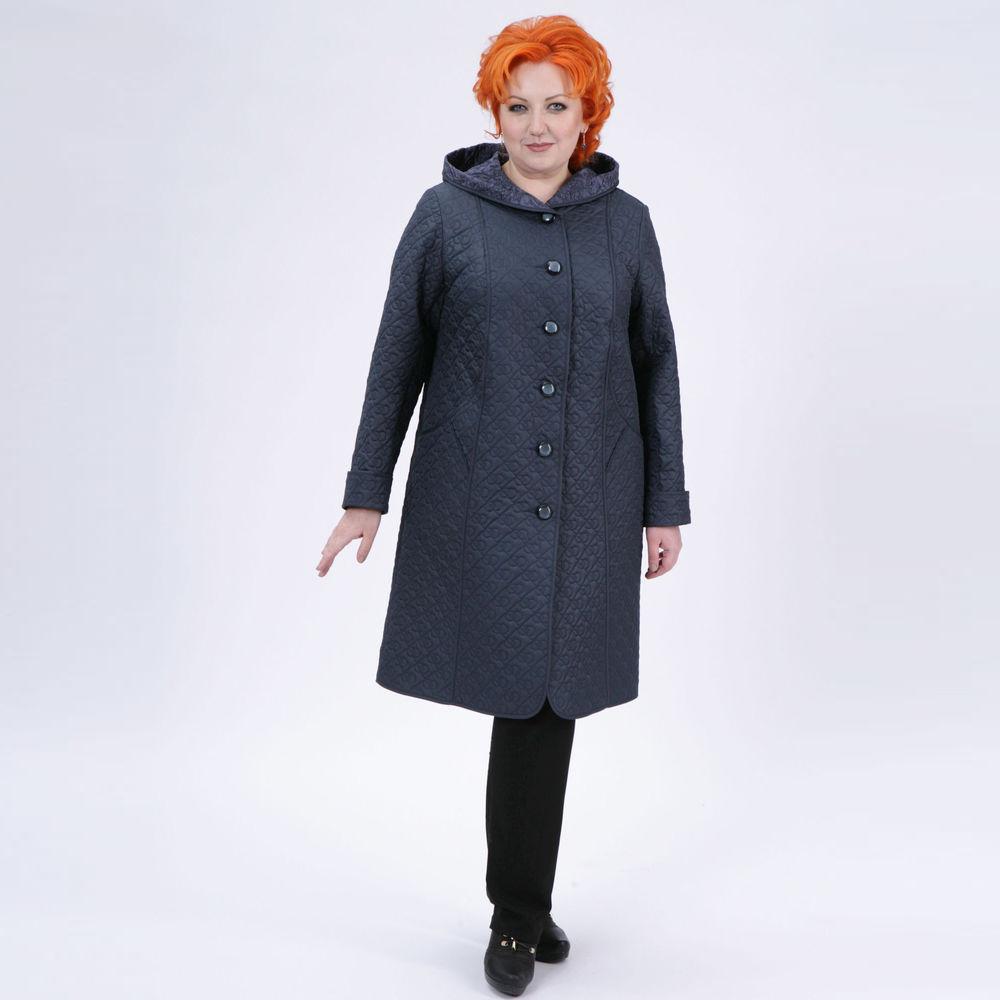 Пальто из стеганой ткани «Лилия»