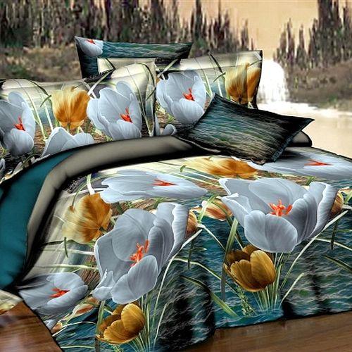 Комплект постельного белья «Вечерний цветок»