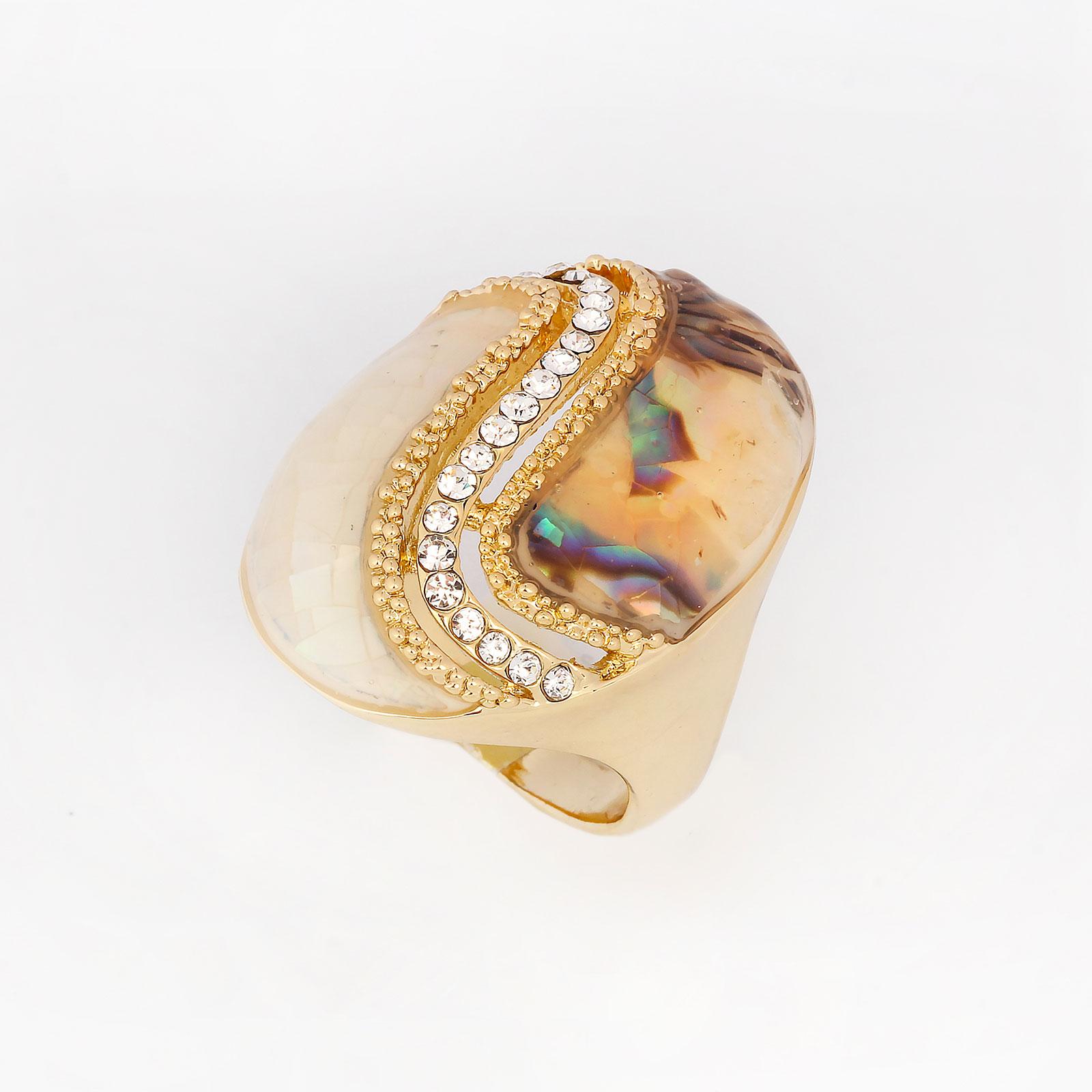 Кольцо «Перламутровая пастель»