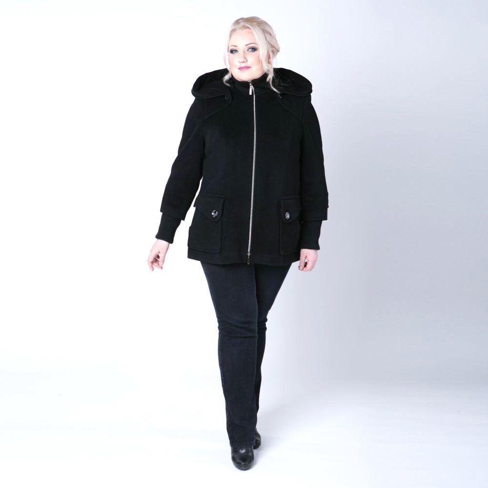 Куртка с карманами и стеганой отделкой