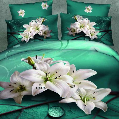 Комплект постельного белья «Белая лилия»