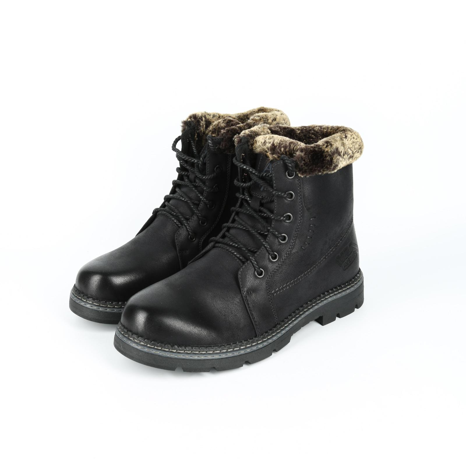 Ботинки мужские с мехом
