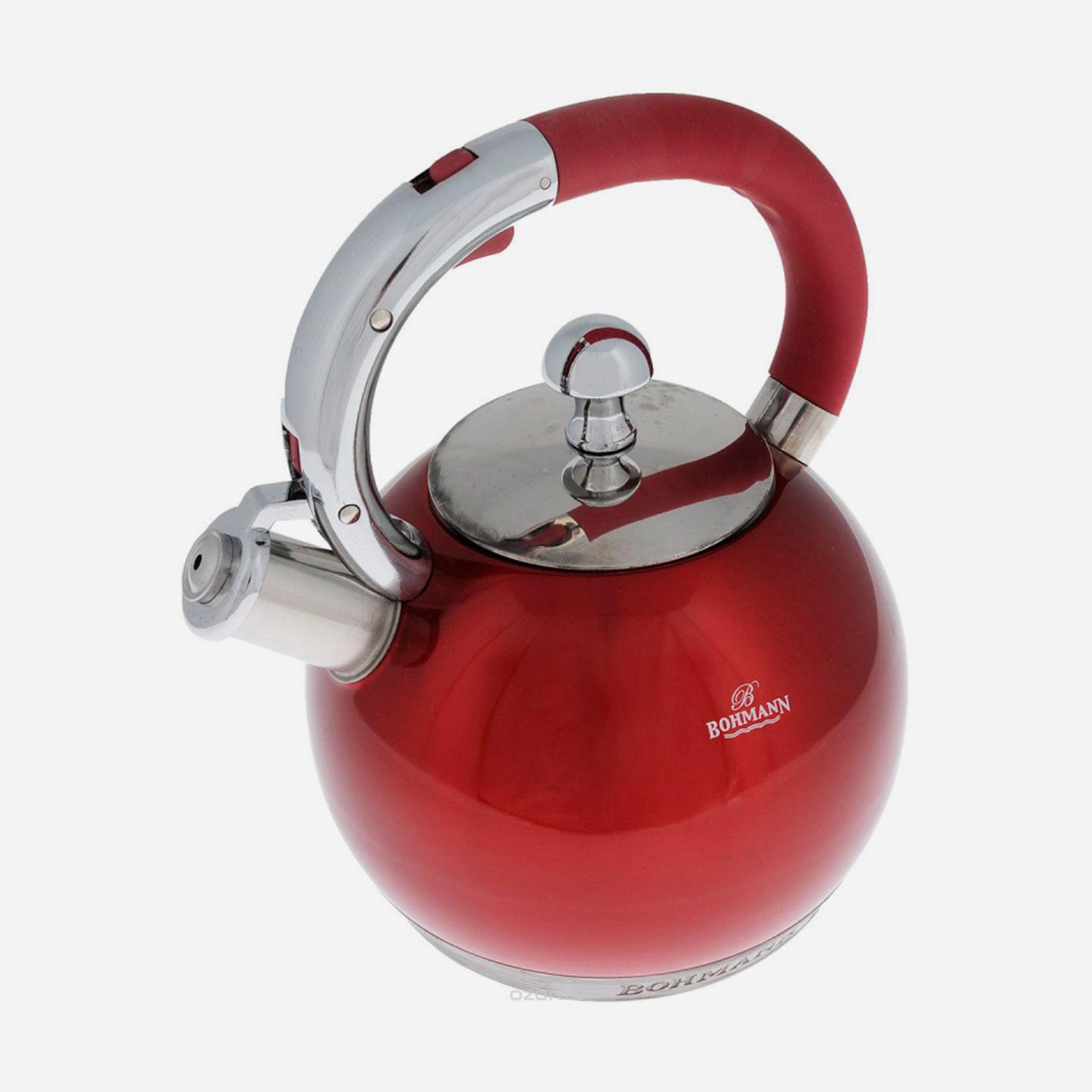 Чайник со свистком «Спелая вишня»