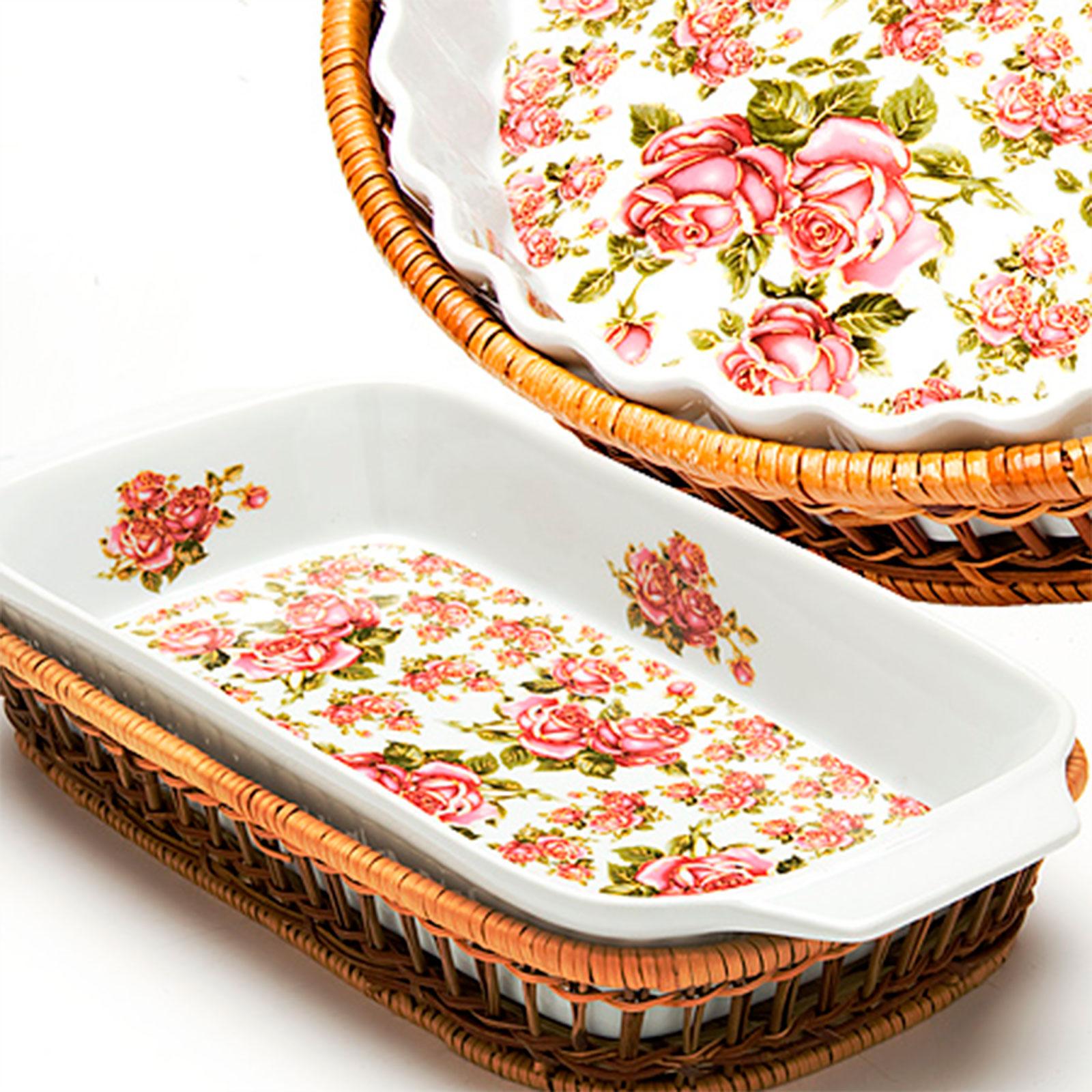 """Блюдо для запекания """"Королевская роза"""""""