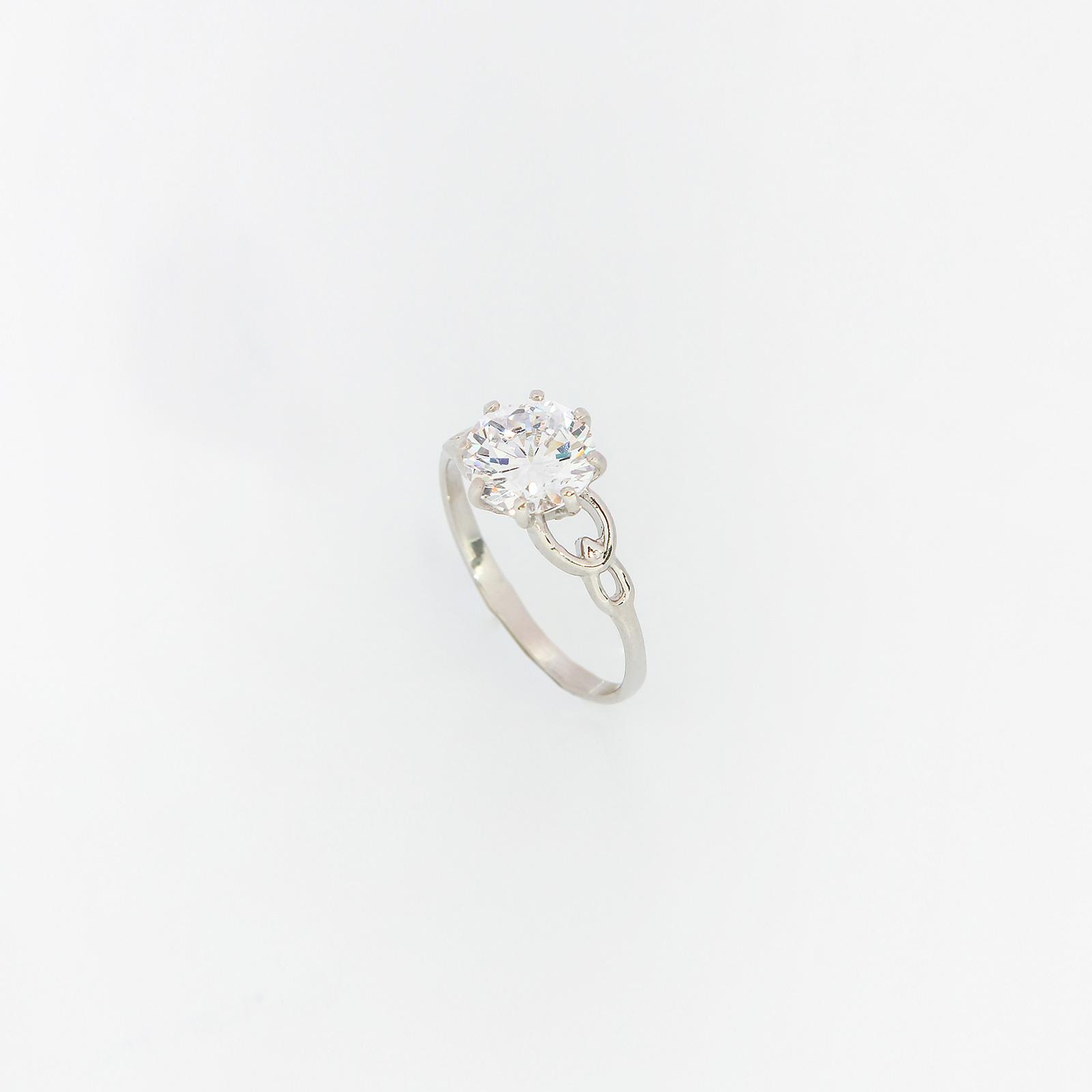 Серебряное кольцо «Нежный взгляд»