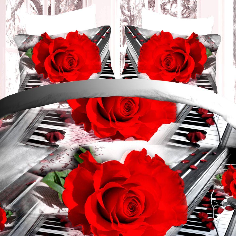 Комплект постельного белья «Мелодия любви»