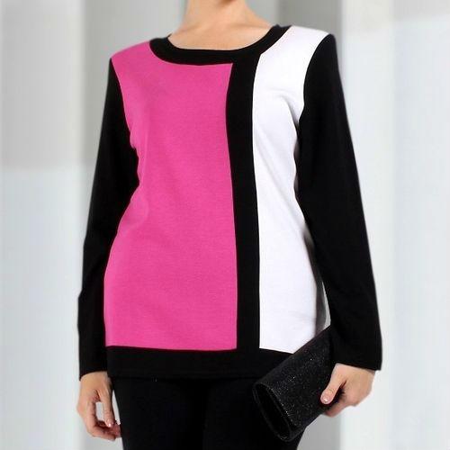 Полуприталенная блуза
