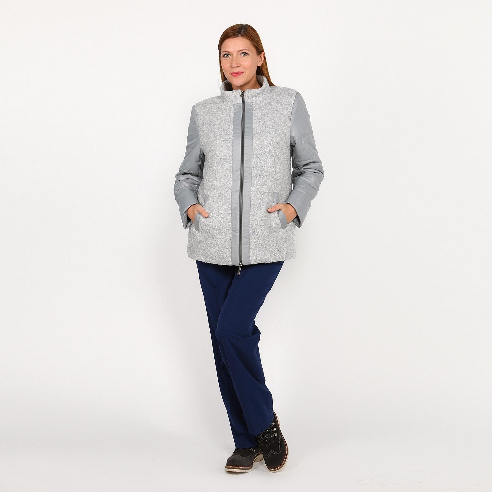 Куртка со съемным капюшоном и карманами