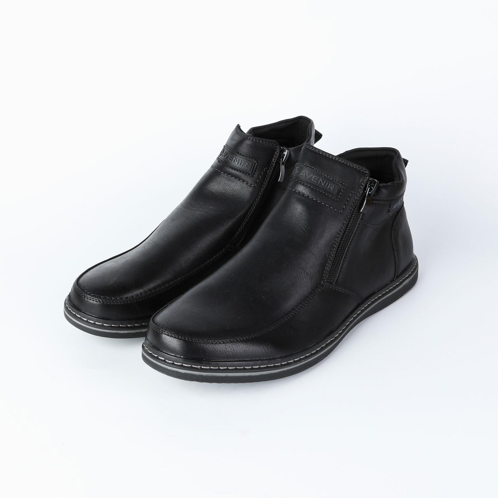 Ботинки мужские с молнией
