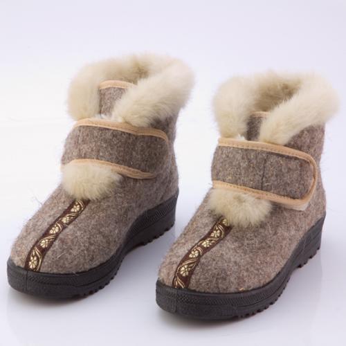 Ботинки войлочные женские «Зимушка»