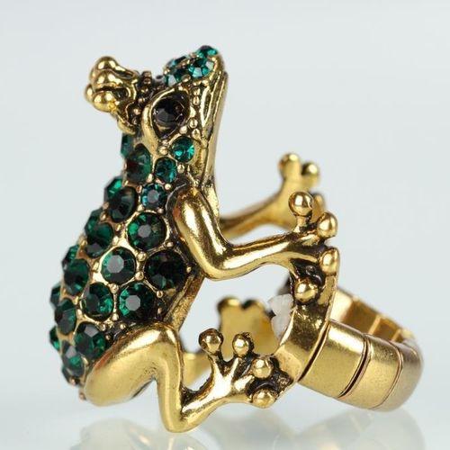 Кольцо «Царевна лягушка»