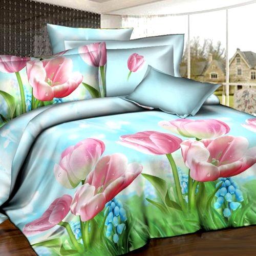 Комплект постельного белья «Голубая Мечта»