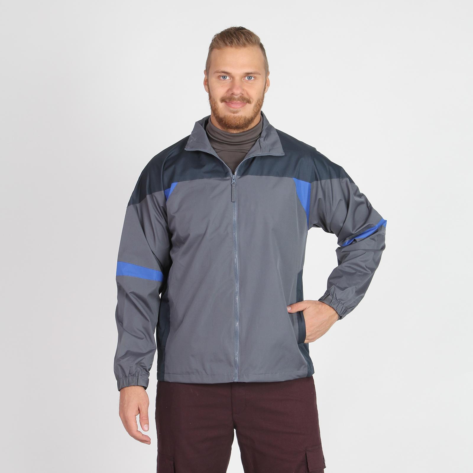 Куртка мужская с контрастными вставками