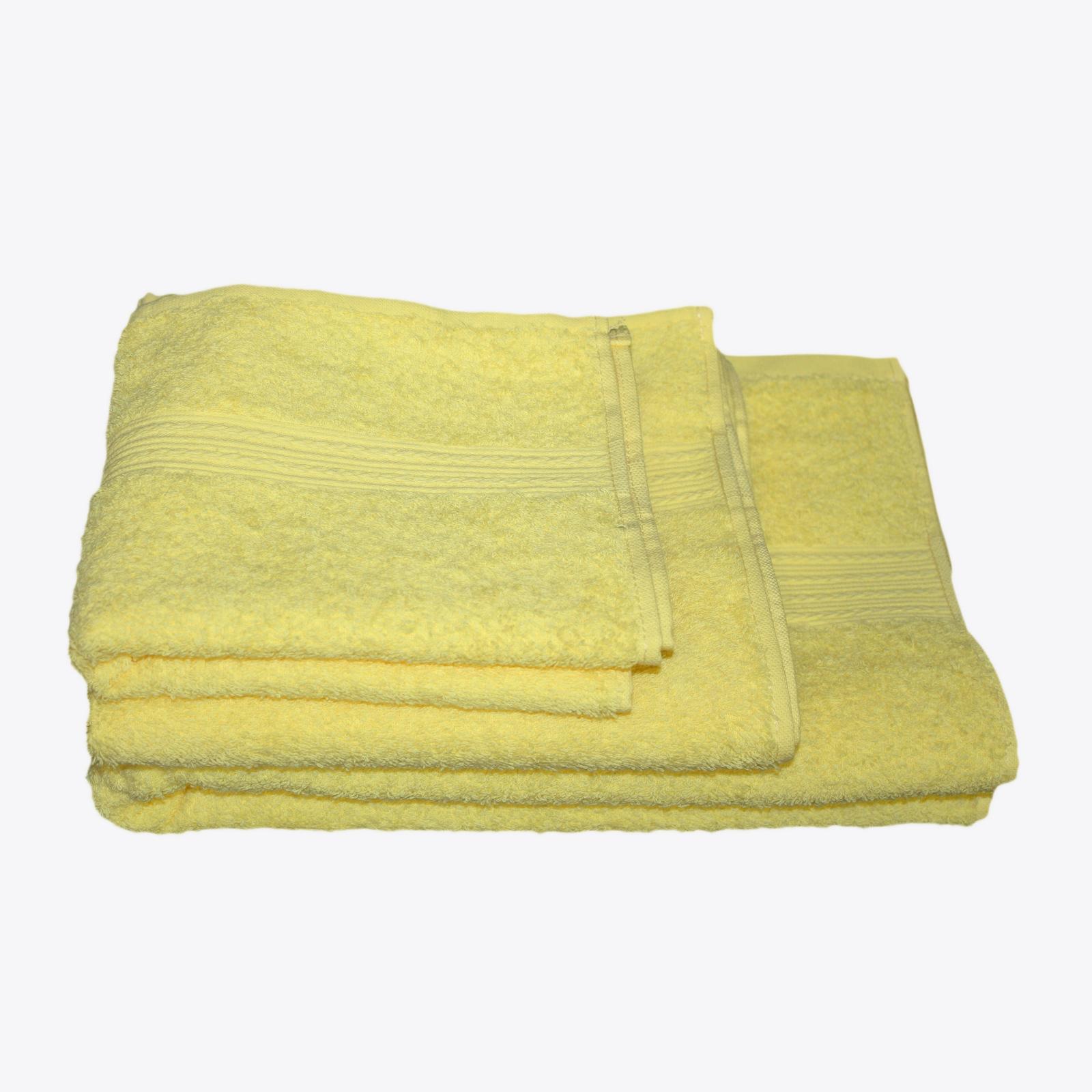 Комплект махровых полотенец «Палитра»
