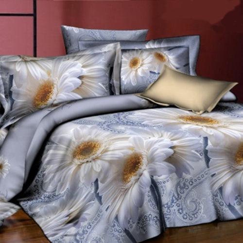 Комплект постельного белья «Белый цветок»