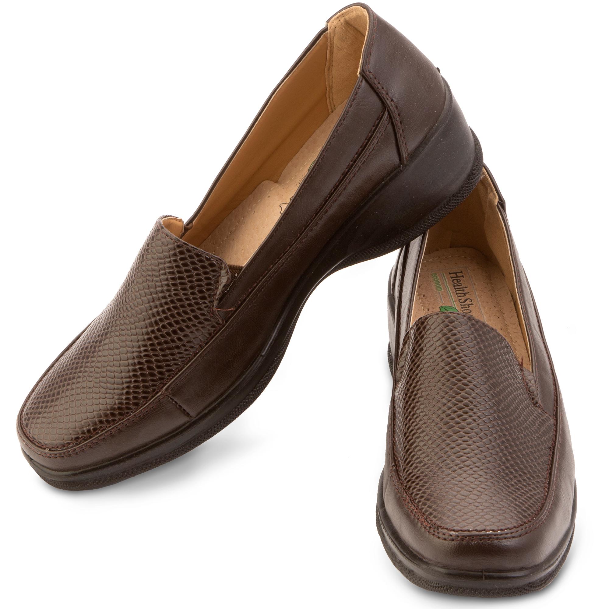 Женские туфли на утолщенной подошве
