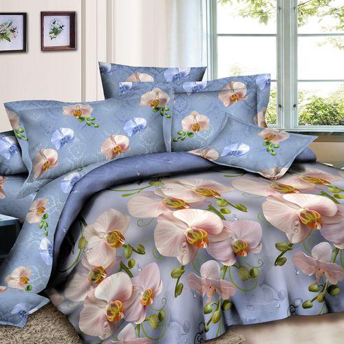 Комплект постельного белья «Нежные орхидеи»