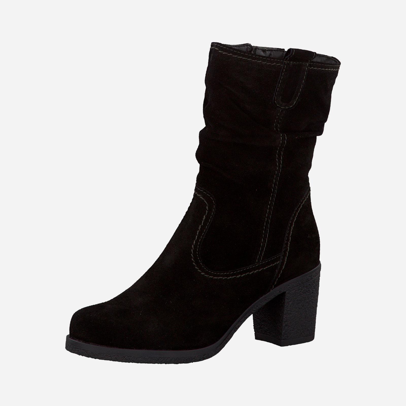 Сапоги женские на каблуке