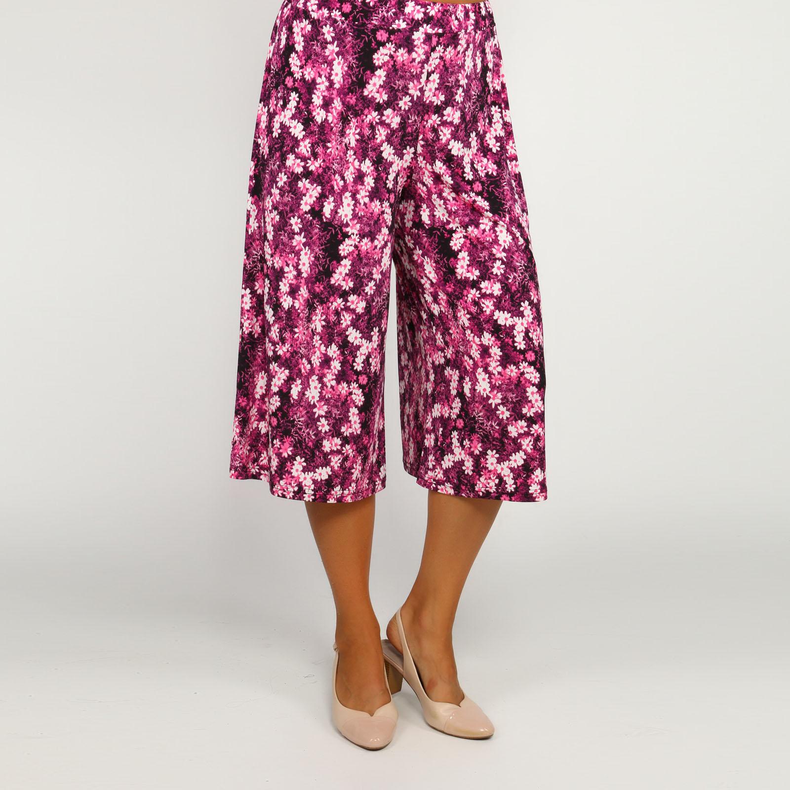 Юбка-шорты с принтом