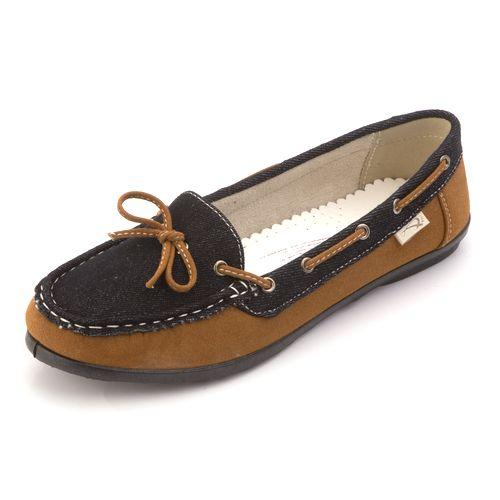 Женские мокасины с декоративной шнуровкой