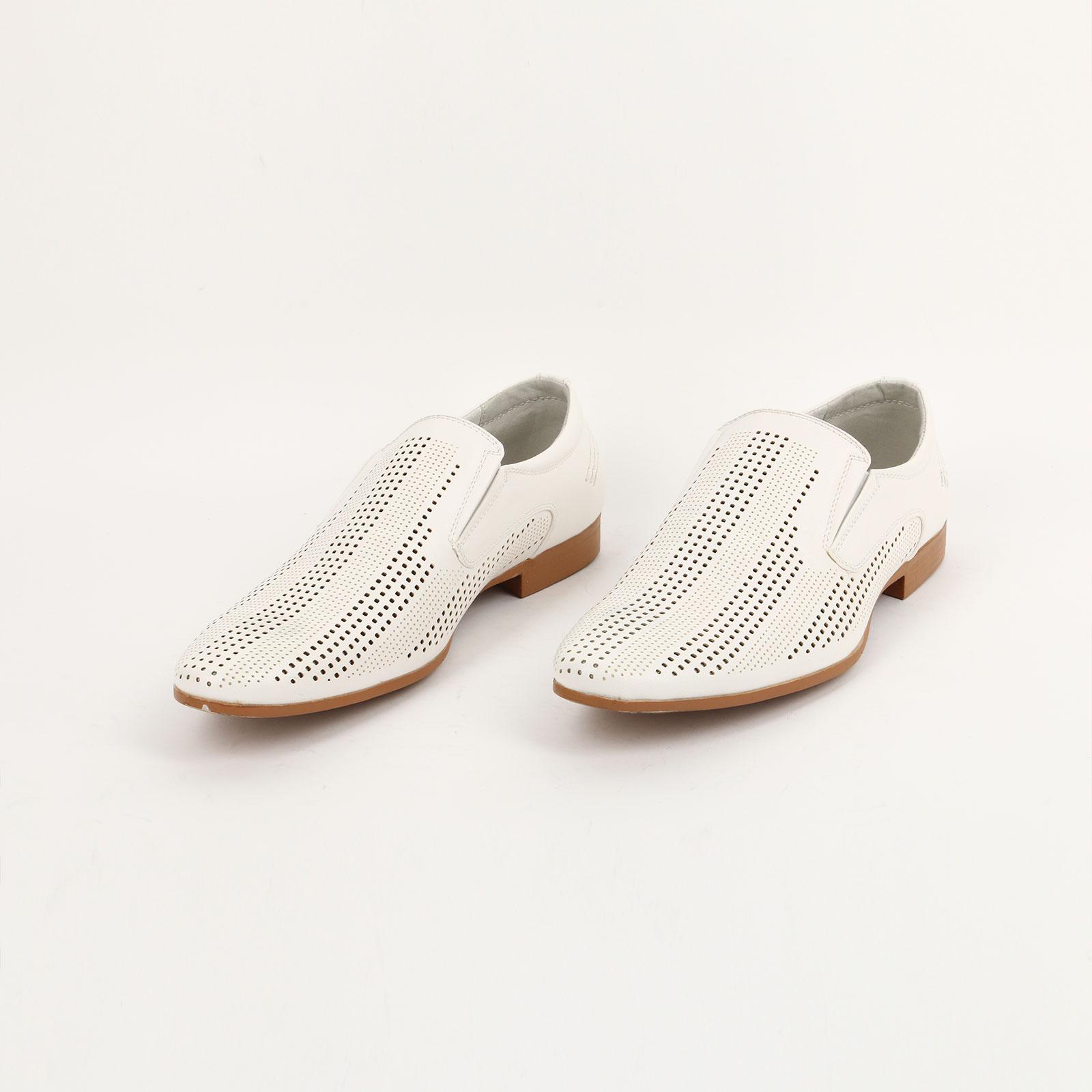Туфли мужские летние с перфорацией