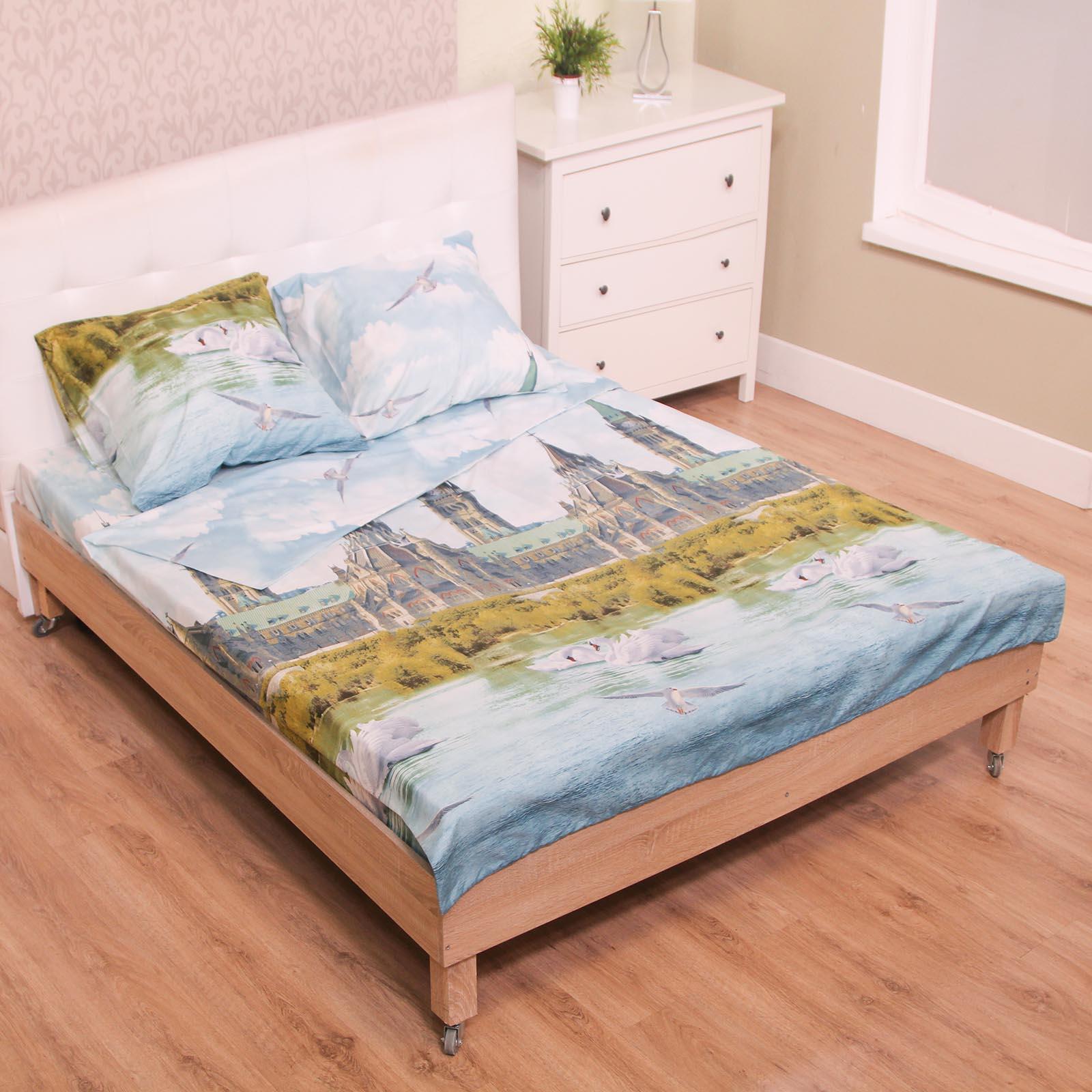 Комплект постельного белья «Лебединая сюита»