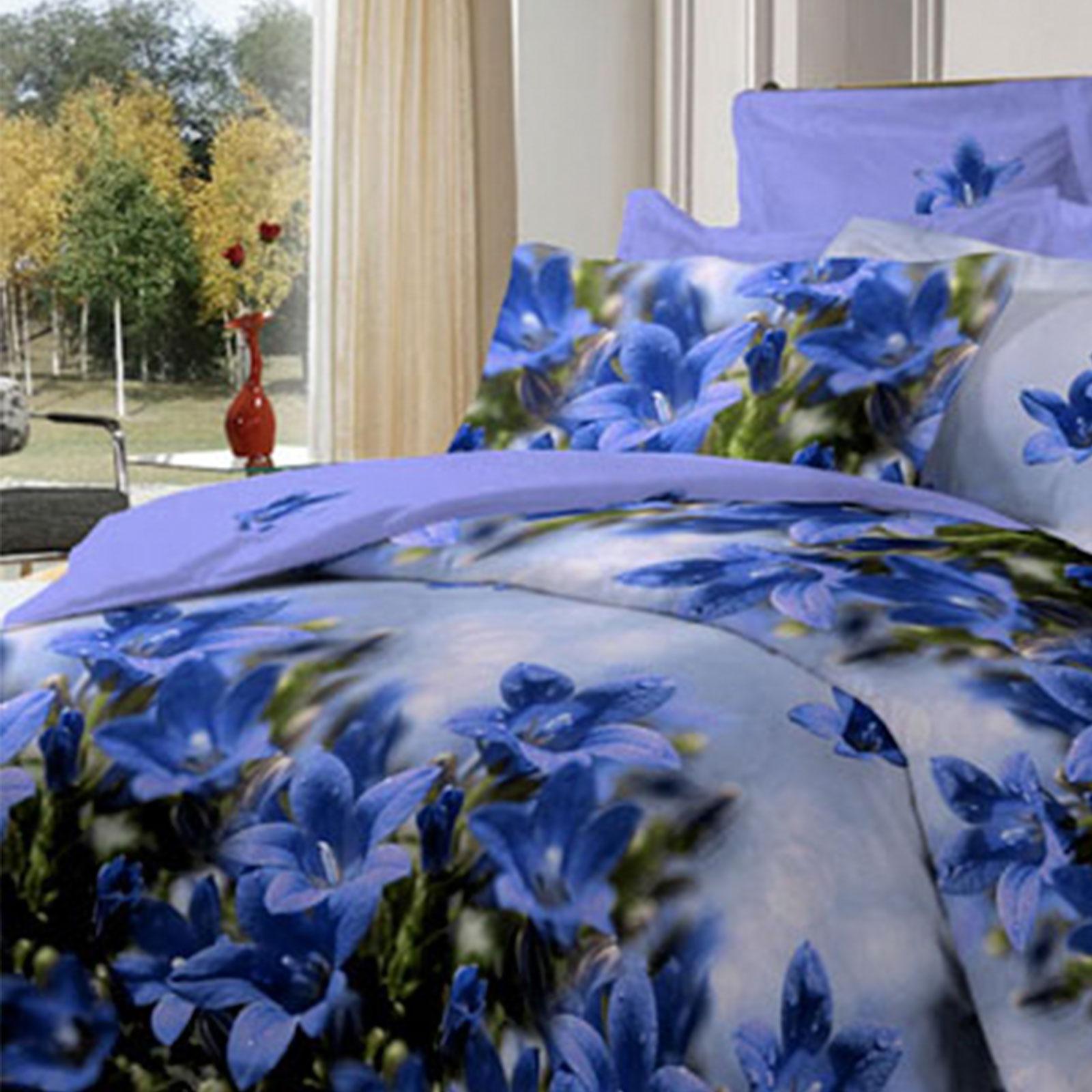 Комплект постельного белья «Лазурный колокольчик»