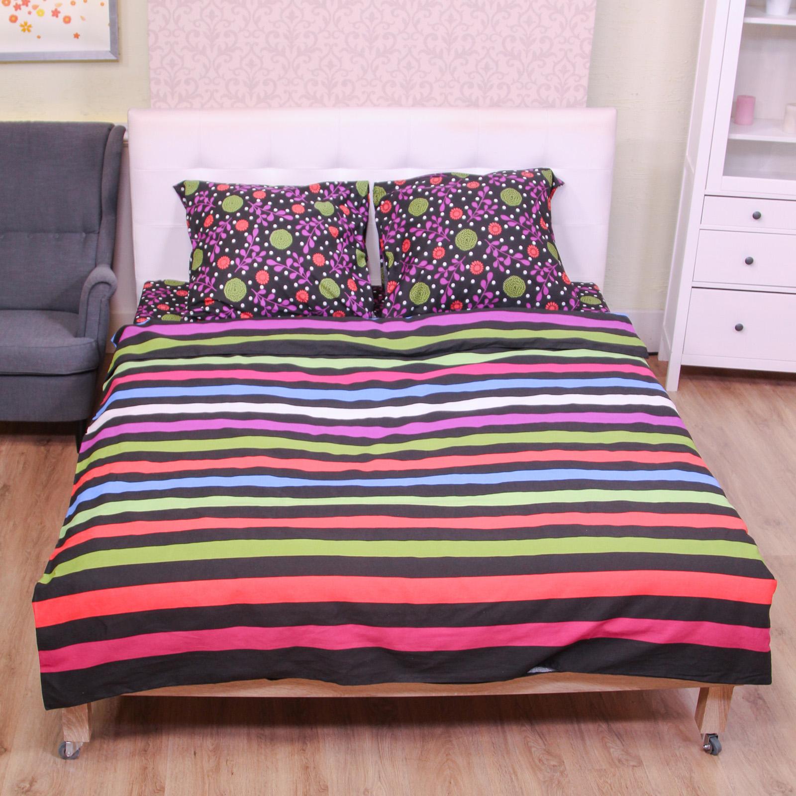 Комплект постельного белья «Цветные сны»