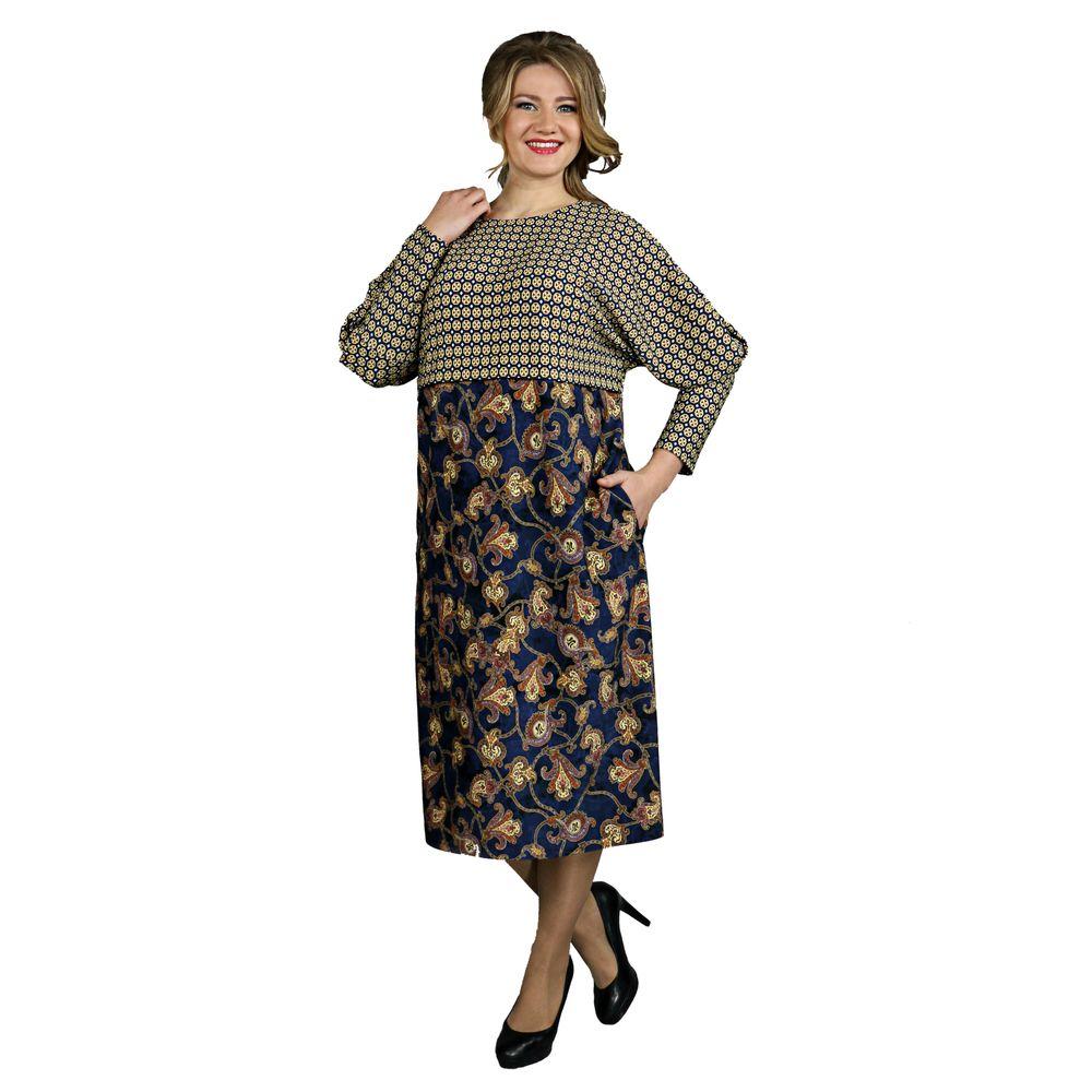 Платье-футляр с комбинированным принтом виброплатформы для похудения в алматы в интернет магазине
