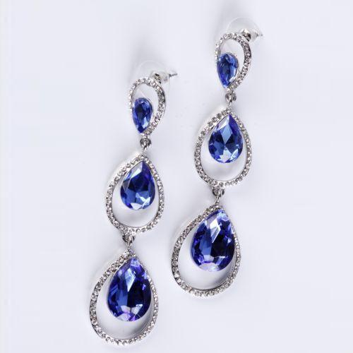 Серьги «Синие мечты»