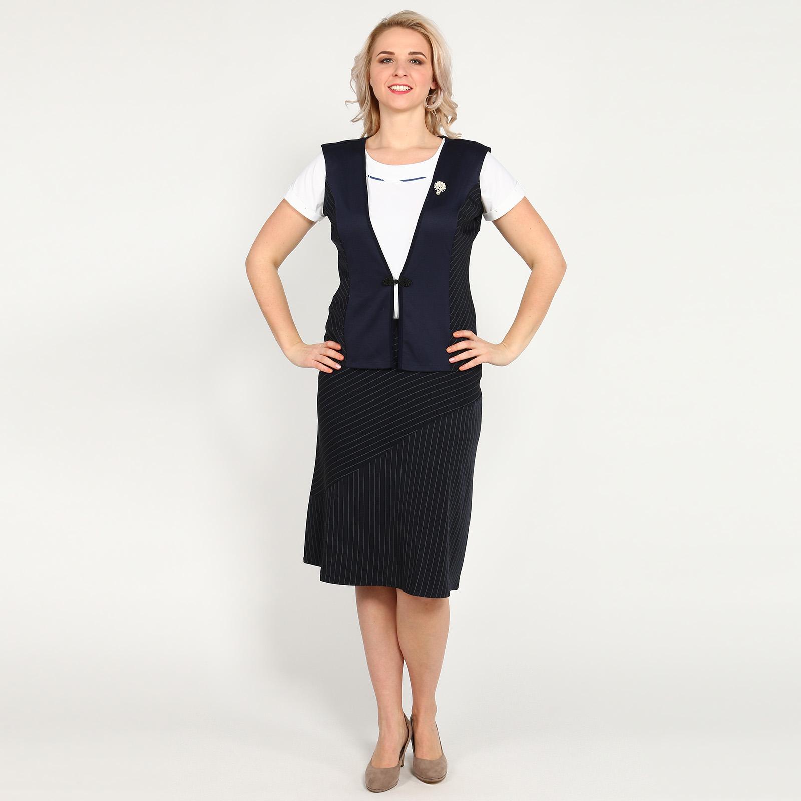 Комплект: жилет и юбка