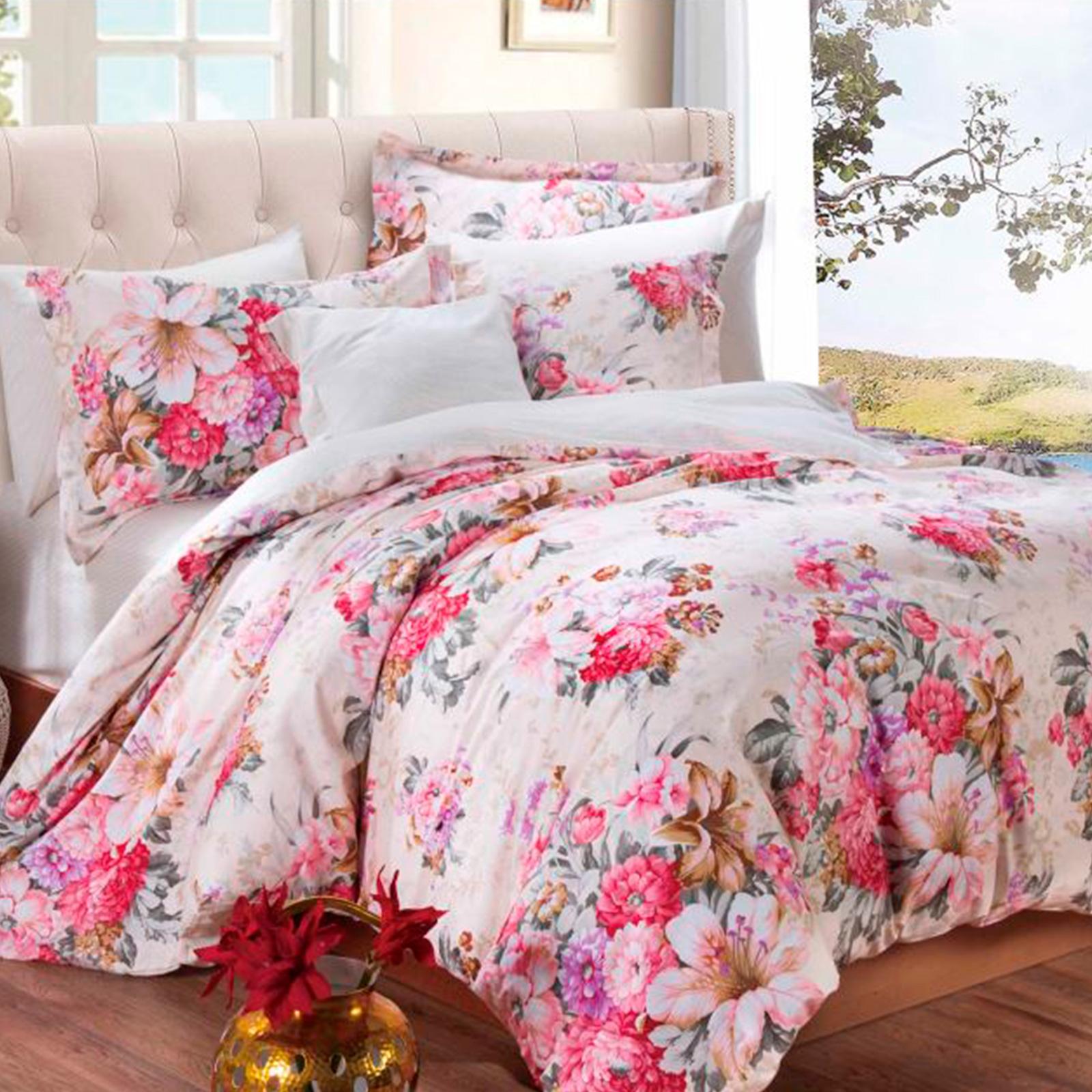 Комплект постельного белья «Цветочное Ассорти»
