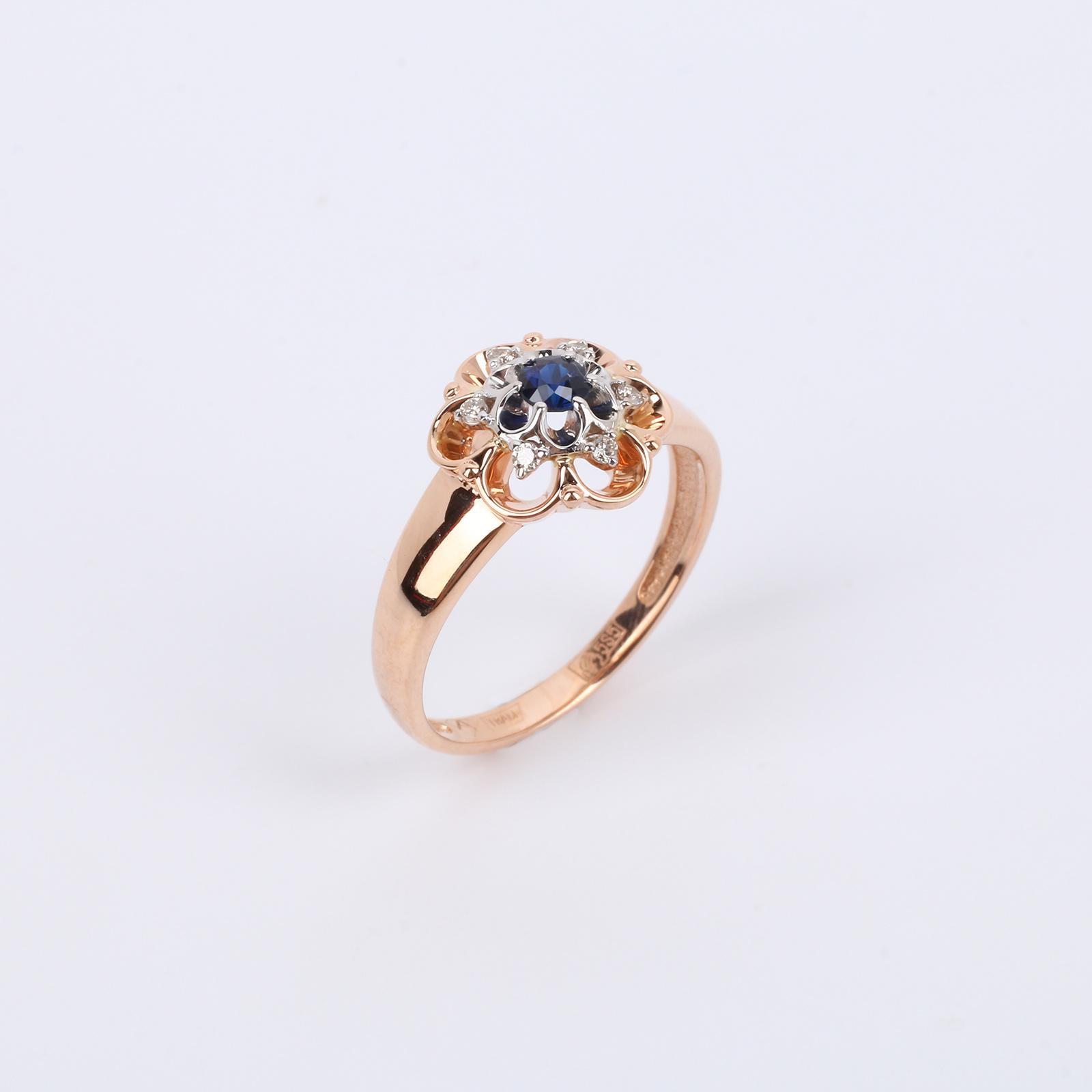 """Золотое кольцо """"Таинственная Орхидея"""""""