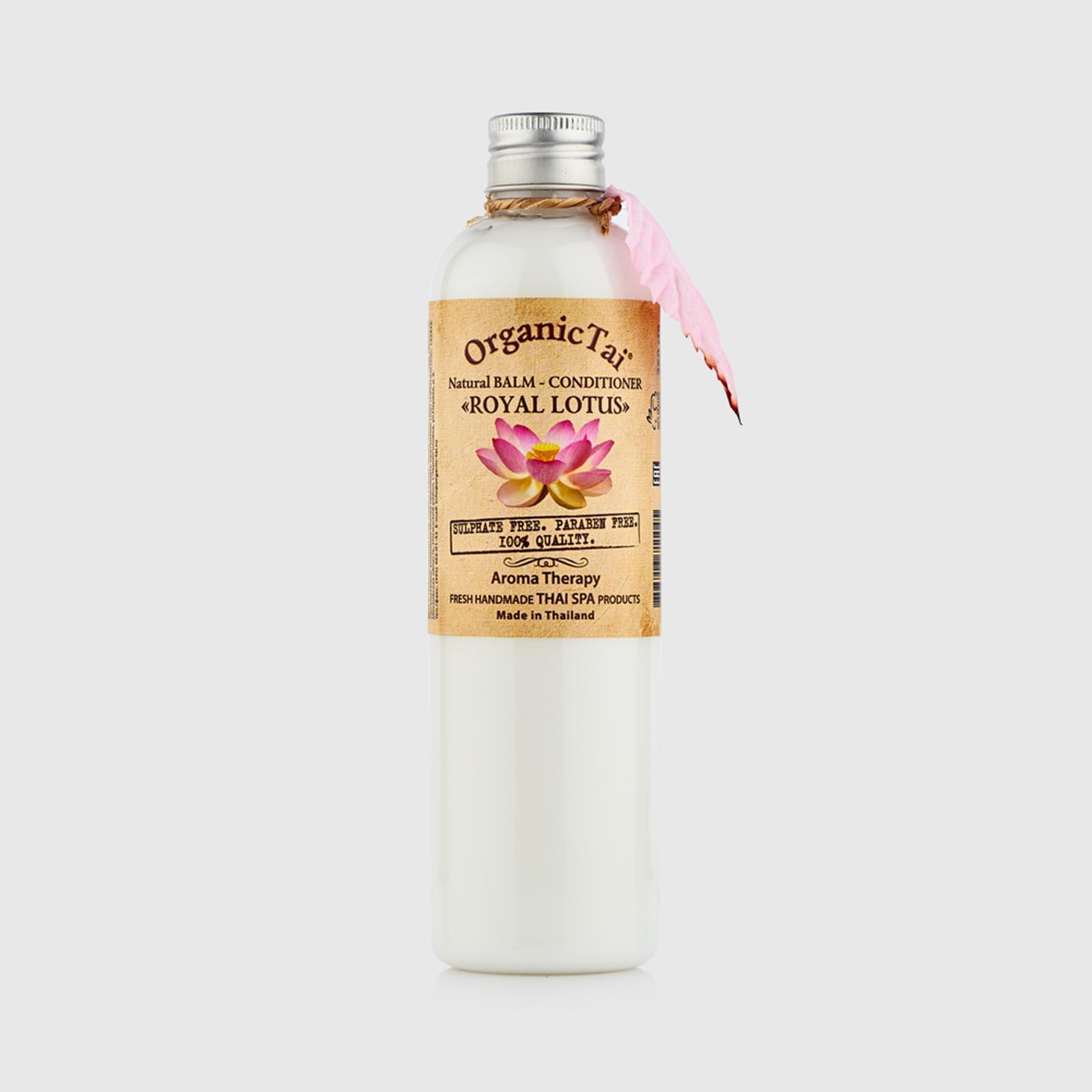 Натуральный бальзам-кондиционер для чувствительной кожи «Королевский лотос»