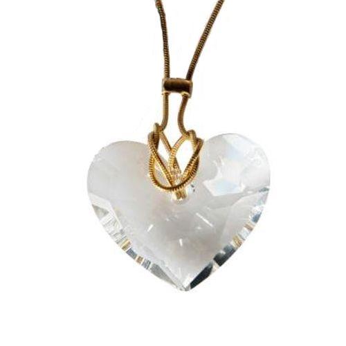 Кулон «Хрустальное сердце»