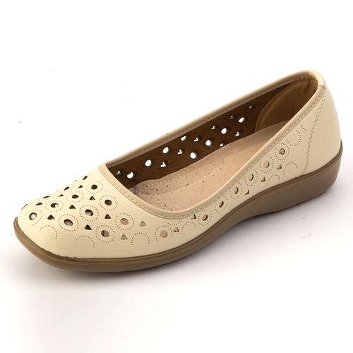 Туфли со сквозной перфорацией