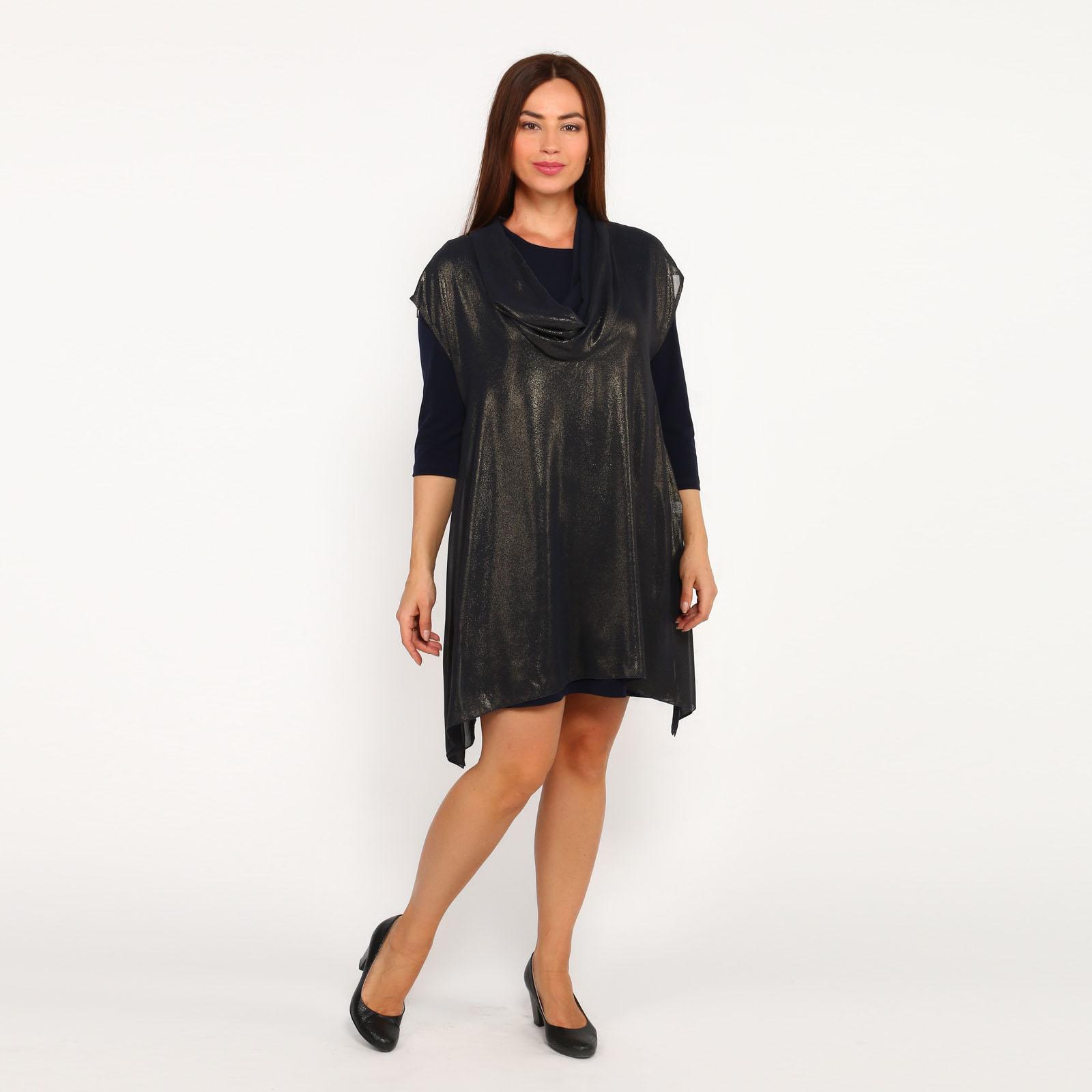 Комплект: блуза с рукавом 3/4 и туника