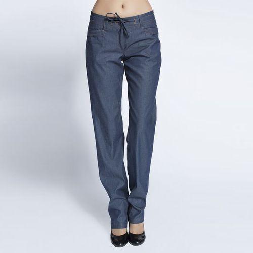 Брюки прямого кроя «под джинсу»