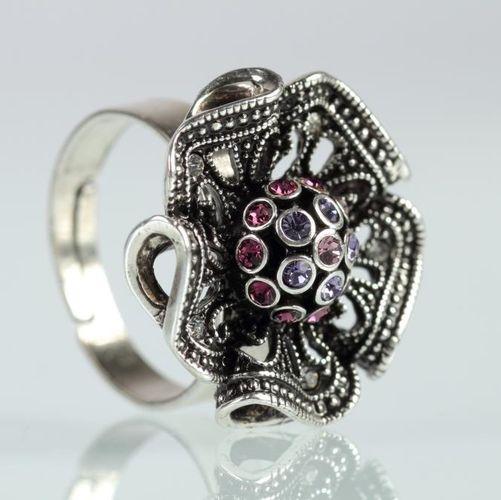 Кольцо «Цветок магнолии»