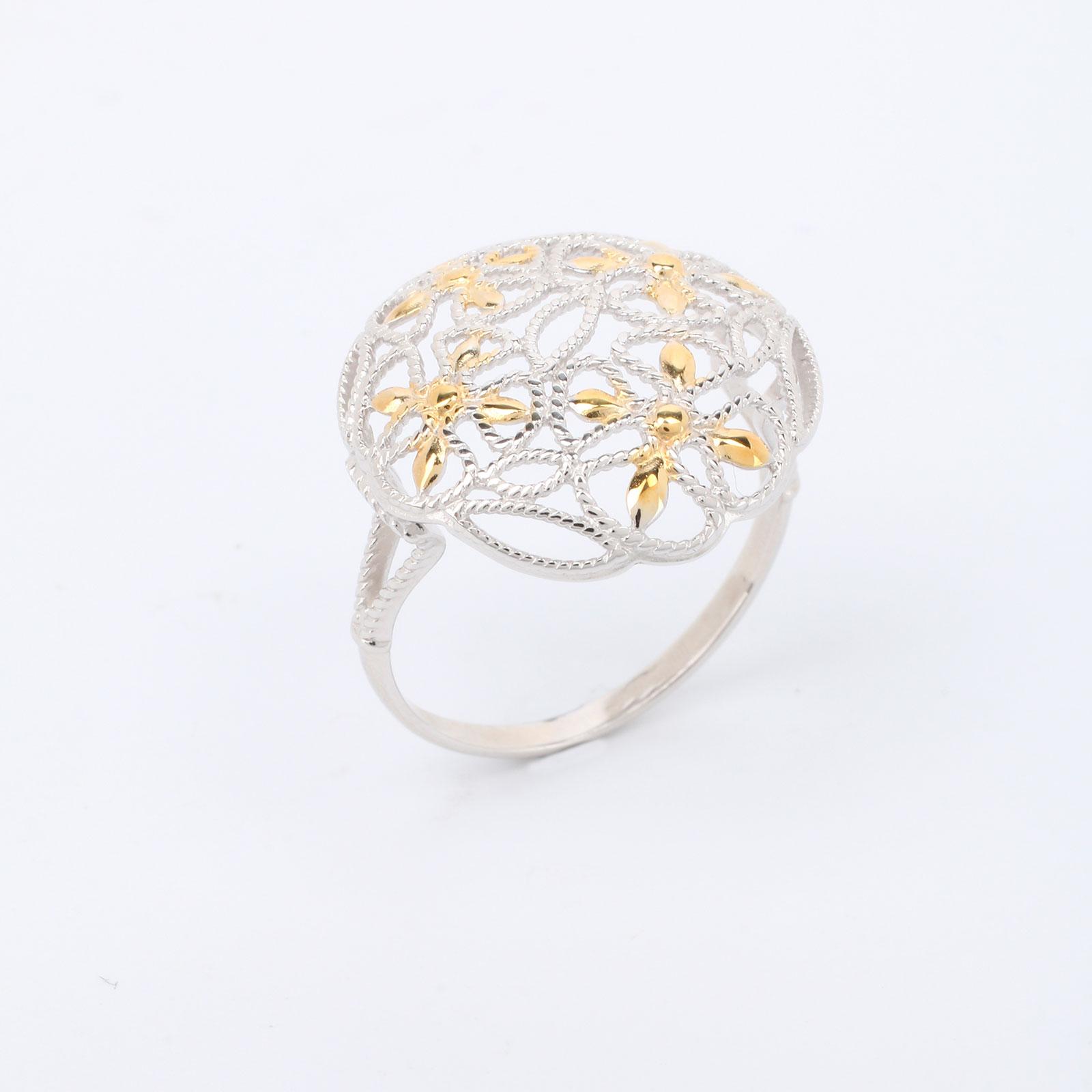 """Серебряное кольцо """"Нежность Прованса"""""""
