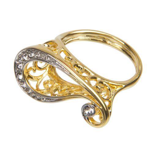 Кольцо «Золотое кружево»