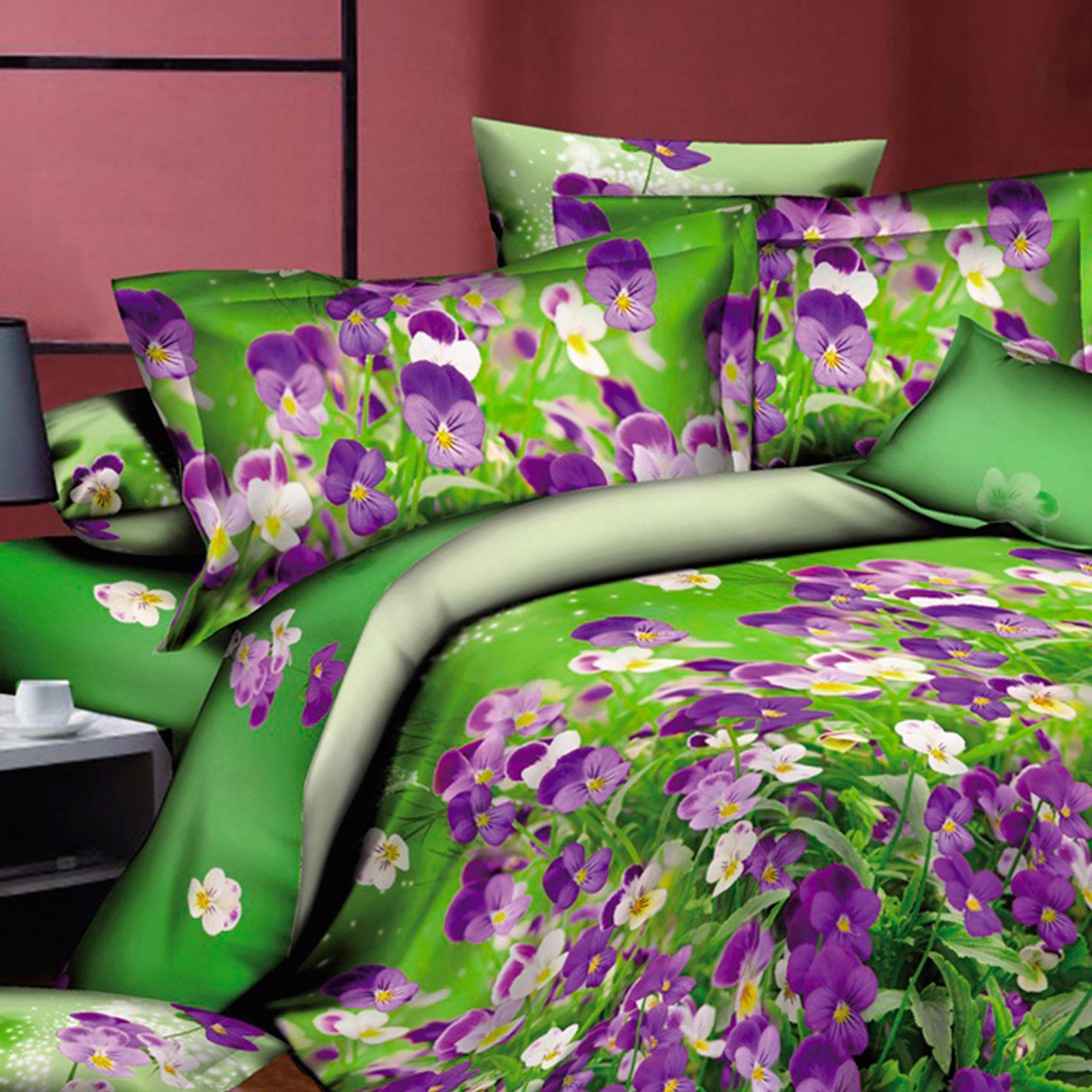 Комплект постельного белья «Фиалковое поле»